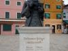 Statuia lui Baldassare Galuppi, realizata de Remigio Barbaro