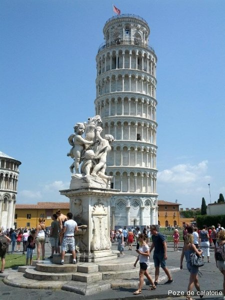 Pisa - Turnul inclinat