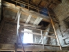 Biserica fortificata din Viscri - scara de acces in turn
