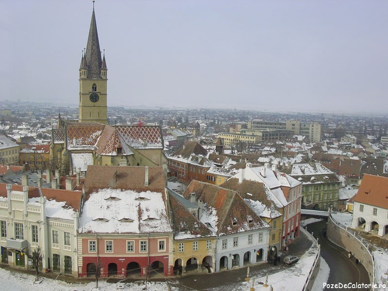 Sibiul iarna