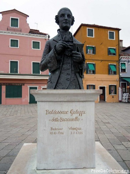 Baldassare Galuppi Buranello - Burano